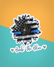 Back The Blue Sticker - Single (Vertical) aos-sticker-single-vertical-lifestyle-front-02