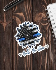 Back The Blue Sticker - Single (Vertical) aos-sticker-single-vertical-lifestyle-front-05