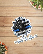 Back The Blue Sticker - Single (Vertical) aos-sticker-single-vertical-lifestyle-front-07