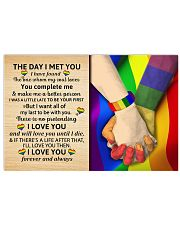 LGBT - The Day I Met You Poster 17x11 Poster front