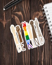 Lgbt - Be Kind Sticker - Single (Vertical) aos-sticker-single-vertical-lifestyle-front-05