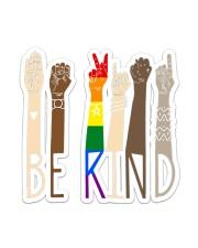 Lgbt - Be Kind Sticker - Single (Vertical) front