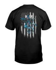 Diabetes - Hope Catcher 2 Sides Classic T-Shirt back
