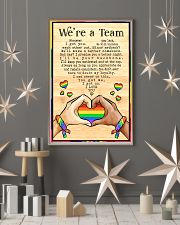 LGBT - We're A Team Poster 11x17 Poster lifestyle-holiday-poster-1