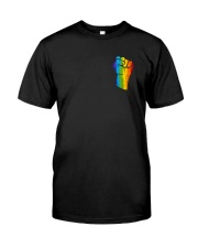 LGBT Love Is Love 2 Sides Classic T-Shirt front
