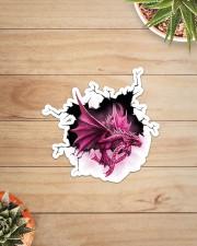 Sticker - Breast Cancer - Crack Dragon Sticker - Single (Vertical) aos-sticker-single-vertical-lifestyle-front-07