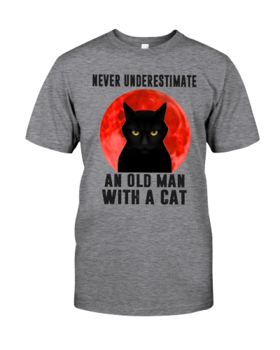 Cat - Never Underestimate An Old Man