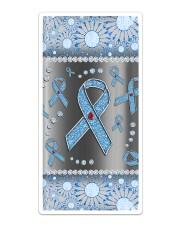 Diabetes Blue Ribbon Phonecase Sticker - Single (Vertical) thumbnail