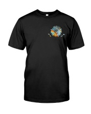 Nurse - Beautiful Daisy 2 Sides Classic T-Shirt front