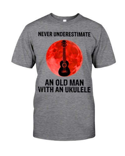 Never Underestimate An Old Man With An Ukulele