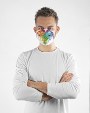 LGBT Dragons  KT Cloth face mask aos-face-mask-lifestyle-14