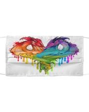 LGBT Dragons  KT Cloth face mask front