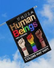 "LGBT - Human Beings Flag 11.5""x17.5"" Garden Flag aos-garden-flag-11-5-x-17-5-lifestyle-front-16"