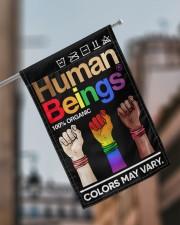 "LGBT - Human Beings Flag 11.5""x17.5"" Garden Flag aos-garden-flag-11-5-x-17-5-lifestyle-front-17"