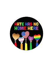 LGBT - Hate - No Home - Magnet custom Circle Magnet thumbnail