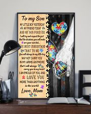 Autism To My Son My Little Boy 11x17 Poster lifestyle-poster-2