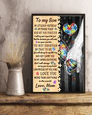 Autism To My Son My Little Boy 11x17 Poster lifestyle-poster-3