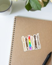 LGBT Be Kind St Sticker - Single (Vertical) aos-sticker-single-vertical-lifestyle-front-16