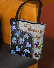 Autism Accept Understand Love Tote Bag All-over Tote aos-all-over-tote-lifestyle-front-02