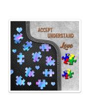 Autism Accept Understand Love Tote Bag Sticker tile