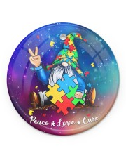 Autism - Gnome Ornament Circle ornament - single (porcelain) front