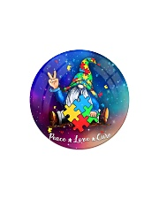 Autism - Gnome Ornament Circle Magnet thumbnail