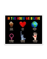 LGBT - In This House We Believe Sticker - Single (Vertical) thumbnail