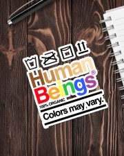 LGBT-Human Being Sticker Sticker - Single (Vertical) aos-sticker-single-vertical-lifestyle-front-05