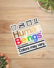 LGBT-Human Being Sticker Sticker - Single (Vertical) aos-sticker-single-vertical-lifestyle-front-07