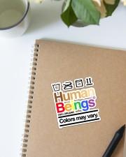LGBT-Human Being Sticker Sticker - Single (Vertical) aos-sticker-single-vertical-lifestyle-front-16