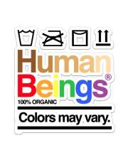 LGBT-Human Being Sticker Sticker - Single (Vertical) front