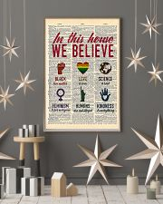 LGBT In This House We Believe  11x17 Poster lifestyle-holiday-poster-1