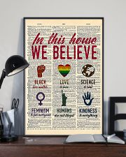 LGBT In This House We Believe  11x17 Poster lifestyle-poster-2