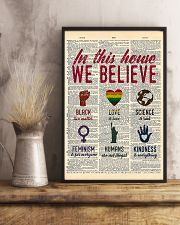 LGBT In This House We Believe  11x17 Poster lifestyle-poster-3