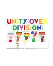 LGBT - Unity Over Division Ys Sticker tile