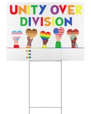 LGBT - Unity Over Division Ys Yard Signs tile