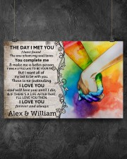Custom LGBTQ The Day I Met You  17x11 Poster aos-poster-landscape-17x11-lifestyle-12
