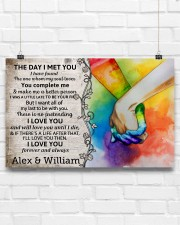 Custom LGBTQ The Day I Met You  17x11 Poster aos-poster-landscape-17x11-lifestyle-17