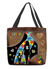 Autism Mom Tote All-over Tote back