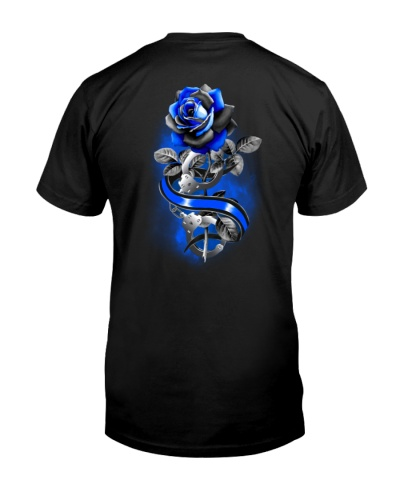 Rose Back The Blue  2 Sides