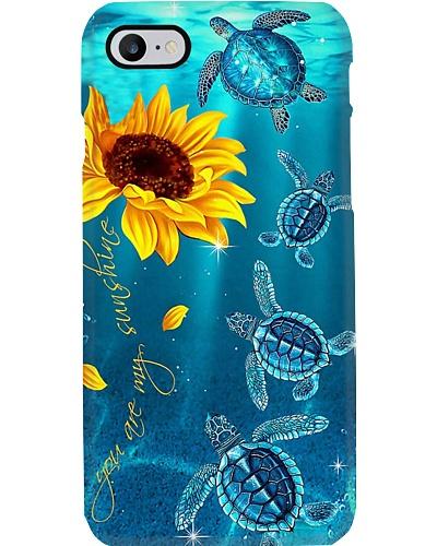 Turtle Sunshine Phone Case