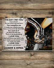 Personalized Veteran The Day I Met You 17x11 Poster poster-landscape-17x11-lifestyle-14