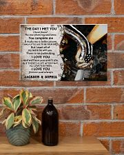 Personalized Veteran The Day I Met You 17x11 Poster poster-landscape-17x11-lifestyle-23