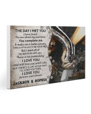 Personalized Veteran The Day I Met You Gallery Wrapped Canvas Prints tile