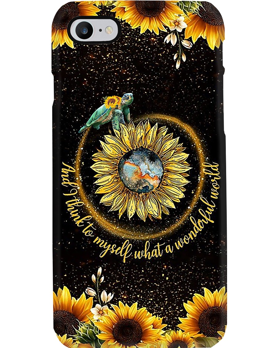 Turtle Sunflower Phone Cases Phone Case