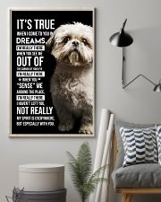 Shih Tzu I'm Really There  11x17 Poster lifestyle-poster-1