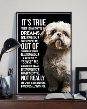 Shih Tzu I'm Really There  11x17 Poster lifestyle-poster-2