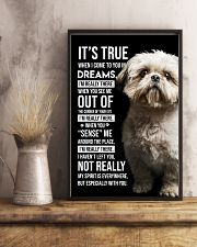 Shih Tzu I'm Really There  11x17 Poster lifestyle-poster-3