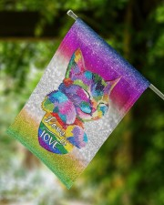 "Cat Lgbt 11.5""x17.5"" Garden Flag aos-garden-flag-11-5-x-17-5-lifestyle-front-15"