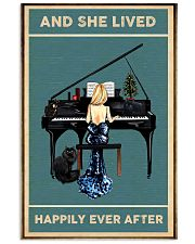 She Lived Happily Ever - Piano 11x17 Poster front